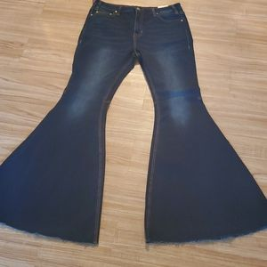 Rock & Roll Bell Bottom Jeans, Size 33 x 36 - NWT